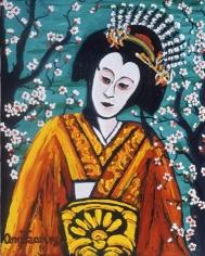 Honcho Nijushiko Turquoise Nakamura Utaemon, 2001 n1212
