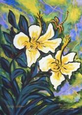 White Hibiscus, 2003 n1762