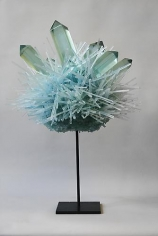 Carson Fox, Blue Green Crystal Pom (2013)