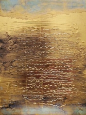 Nancy Lorenz, Moon Gold Water with Plum Clay (2013)