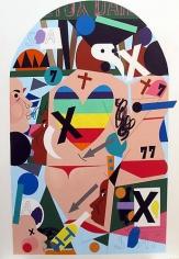 Nina Chanel Abney, Untitled (2013)