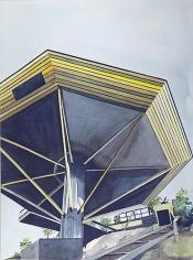 "Amy Park: John Lautner's ""Chemosphere"" House, Los Angeles, CA 1965 (2012)"