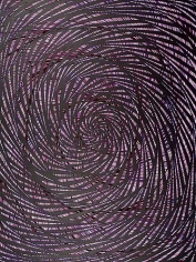 Katia Santibañez, Purple Swirl (2013)