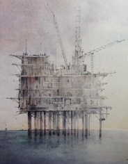 Errol Barron: Abandoned Rig (New Orleans) (2012)