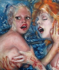 Lustmord (2011) Oil On Canvas