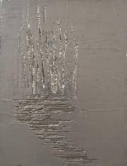 Nancy Lorenz, Blackened Silver, Cardboard II (2013)