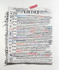 William Powhida: An Incomplete And Biased Guide To Some Critics (2011)
