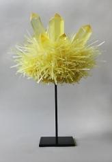 Carson Fox, Yellow Crystal Pom (2013)