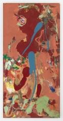 Hans Hofmann, Aquatic Garden, 1960, Oil on Upson board, 95 3/4 x 47 3/4 inches, 243.2 x 121.3 cm, AMY#1140