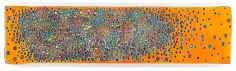 Markus Linnenbrink, (YOUAREALRIGHT), 2014, Epoxy resin and pigments on wood, 24 x 96 inches, 61 x 243.8 cm, A/Y#21864