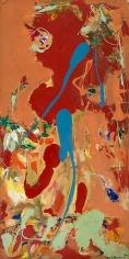 Hans Hofmann, Aquatic Garden, 1960, Oil on panel, 96 x 48 inches, 243.8 x 121.9 cm, A/Y#1140