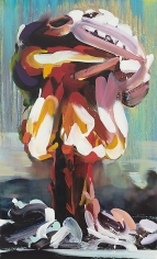 """""""Boom 5,"""" 2011, Oil on canvas, 48 x 29 inches, 121.9 x 73.7 cm, A/Y#19920"""