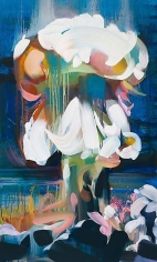 """""""Boom 6,"""" 2011, Oil on canvas, 48 x 29 inches, 121.9 x 73.7 cm, A/Y#19921"""