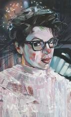 """""""Fool, Seer, MFA Grad (Jane),"""" 2011, Oil on canvas, 48 x 29 inches, 121.9 x 73.7 cm, A/Y#19918"""