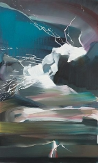 """""""Bolt 3,"""" 2011, Oil on canvas, 48 x 29 inches, 121.9 x 73.7 cm, A/Y#19916"""