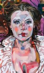 """""""Fool, Seer, MFA Grad (Christy),"""" 2011, Oil on canvas, 48 x 29 inches, 121.9 x 73.7 cm, A/Y#19949"""