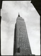 Empire State, 1983, vintage gelatin silver print (Itek print)
