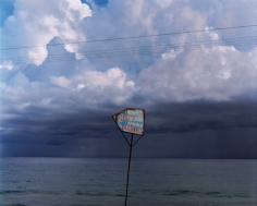 Sign for Hot Springs Near Santiago de Cuba, 2004, chromogenic print