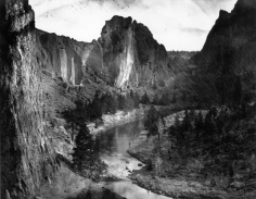 Volcanic Ash Along the Crooked River