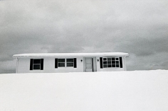 Terry Wild, New Home in December, 1971, vintage gelatin silver print, 5 x 7 inches