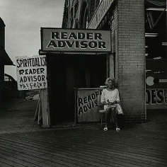 Coney Island, NY, 1968, vintage gelatin silver print, 7 x 7 inches
