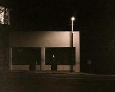 Building, Sunset Strip,  Los Angeles, 2005, platinum print