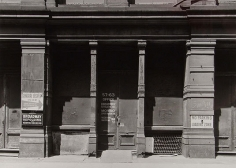 63 Greene Street, NYC, 1975, vintage ferrotyped gelatin silver print, 16 x 20 inches