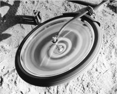 Wheel, 1979 gelatin silver print