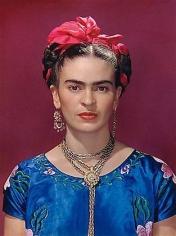 Frida Kahlo in Blue Silk Blouse, 1939