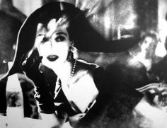 """The Day-Length Dinner Dress"", Dress by Christian Dior, Barbara Mullen, The Ritz, Paris, Harper's Bazaar, April 1949, gelatin silver print, 20 x 24 inches"