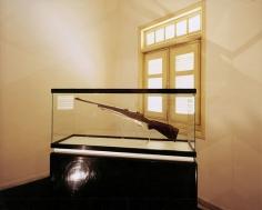 Fidel's Rifle, Moncada Barracks, Santiago de Cuba, 2004