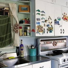 Liz Cockrum, Diana's Kitchen, from the series Sirens, 2008, archival pigment print