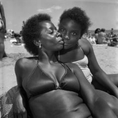 Mother and Daughter, Brighton Beach, NY, 1984