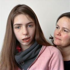 15-Year Old Girl With Her Mother, 2009