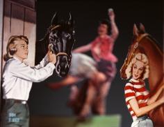 Horseplay, 2006 20 x 24 inch