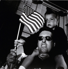 Father and Son at the Labor Day Parade, New York, NY, 2000