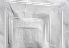 Simon Schubert - Untitled (Corridor and Pictures), 2014