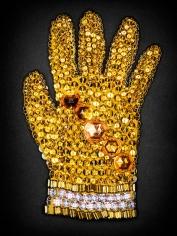 Yellow Swarovski Crystal Glove, 2009