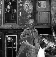 An East Village Painter, New York, NY, 1986