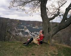 British Redcoat re-enactor, Battle of Concord and Lexington, Lexington, MA, 2002