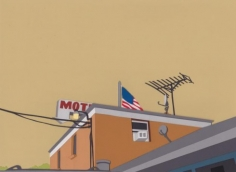 Motel, 2011 5 13/16 x 7 15/16 inches