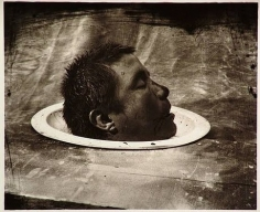 Joel-Peter Witkin,  Head of a Dead Man