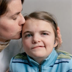 7-Year Old With Her Mother, 2008