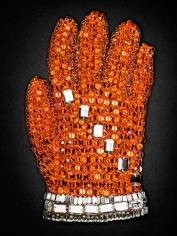 Orange Swarovski Crystal Glove, 2009