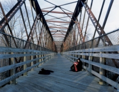 Footbridge, 2003 20 x 24 inches