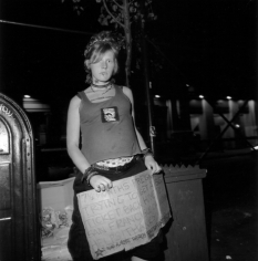 """Seven and a Half Months Pregnant and I Want to Go Home"", New York, NY, 2000"