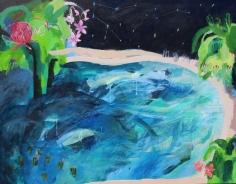 Nikky Morgan-Smith  Blue Lagoon, Thalassophobia, 2019 Artwork