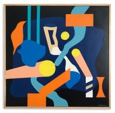 Greg Hodgson  3 Suns divided, 2019 art