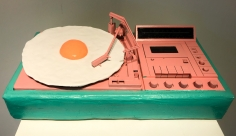 Lee McConnell  Egg on A Turntable, 2019  Lone Goat Gallery