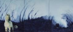 Shaun C. Murphy Vitality [Progression], 2017 Oil on canvas 120 cm x 270 cm